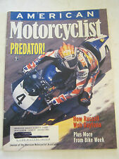 May 1997 American Motorcyclist Magazine, Predator!  (BD-28)