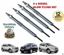 FOR SSANGYONG KYRON REXTON RX270 RODIUS 2.0DT 2.7DT 2004-  4x DIESEL GLOW PLUG