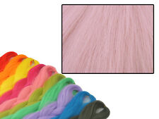CyberloxShop PHANTASIA Kanekalon Jumbo Treccia Luce China Rose Rosa Capelli Dreadlocks