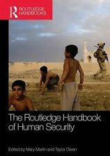 Routledge Handbook of Human Security, , New Condition