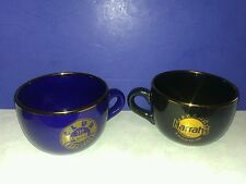 "Set of 2 Harrahs Casino ""CLUB CAPPUCINO"" Laughlin, Nevada Oversize 20 Oz Mugs"