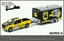 Greenlight hitch and tow 9 2015 Ford F150 and Terlingua Racing trailer
