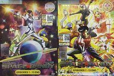 DVD Space Dandy Season 1 & 2 + Free DVD