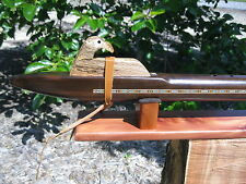 Native American Flute -  Walnut low D - Professional Quality - handmade