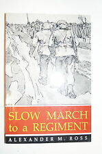 WW2 Canadian Slow March to a Regiment Reference Book