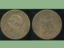 FRANCE  FRANCIA   10 centimes NAPOLEON III   1856  MA   (3)