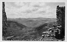 BR40855 Chaine des Cerennes et vallee de l eyvieux vue des Ruines de Ro   France