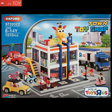 Oxford Block TOWN TOY SHOP ST33322 Building Bricks Set Korean Limited Edition