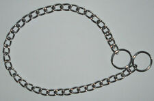 """4 DOG CHOKECHAIN LOT 23"""" CHOKE CHAINS LARGE COLLARS FOR TRAINING CMY OTHER ITEMS"""