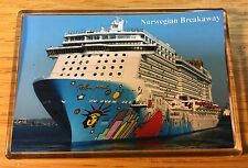 NCL Norwegian Breakaway Large Fridge Magnet Cruise Ship