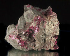 "3"" Magenta Purple ERYTHRITE Sharp Lustrous Crystals in Matrix Morocco for sale"