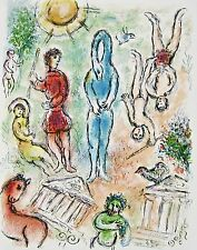 In Hell (The Odyessy) 1989, Ltd Ed Lithograph, Marc Chagall