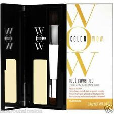 COLOR WOW HAIR COLOUR INSTANT ROOT COVER UP +  FREE DISPATCH [ PLATINUM BLONDE ]
