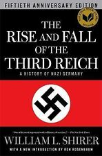 The Rise and Fall of the Third Reich: A History of Nazi Germany-ExLibrary