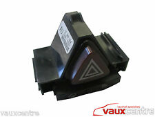 VAUXHALL CORSA D INTERIOR HAZARD LIGHT SWITCH 13189800 13189529