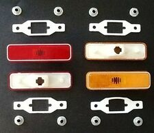 12-pc Genuine MoPar Side Marker Lamp Set w/Gaskets for 1972-1974 E-Body
