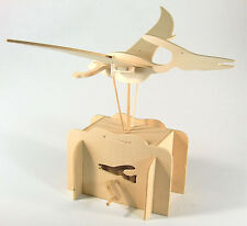 *NEW* Flying Pteranodon Working Wooden Construction Craft Kit - Automaton