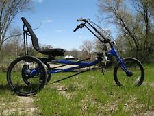 Quest Recumbent Tricycle Blue