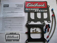 NOS/NITROUS/NX/ZEX/ EDELBROCK PERFORMER RPM HOLLEY 415O PLATE KIT 100-250HP NEW