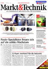 Markt&Technik 5/2014: Lebensdauer von LEDs, Leistungshalbleiter-Neuheiten, ...