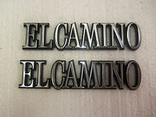 EL CAMINO QUARTER EMBLEMS  2  NEW 1978 - 1987 OP1300.2