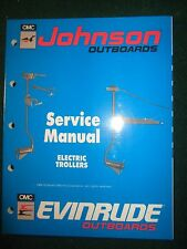 1990 OMC Johnson Evinrude Electric Trollers Service Manual ES 12 24V Bow Transom