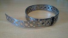 Engineers Stainless Steel Metal Punched Perforated Strip Strap 630mm