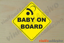 PEGATINA STICKER VINILO Bebe a bordo ref7 Baby on board autocollant aufkleber
