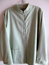Travel Smith Light Green Jacket Top   Womens L