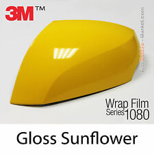 30x152cm FILM Gloss Sunflower 3M 1080 G25 Vinyle COVERING Car Wrapping Wrap