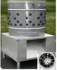 New EZ-151 EZPLUCKER Stainless Steel Chicken Plucker De-Feather Machine