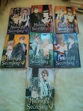 Midnight Secretary Manga - French/Französisch - KOMPLETT 1-7 - Tom Ohmi