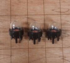 (3) 12318139130 Walbro 188-512-1 Snap in Primer Pump Bubble Bulbs US Seller