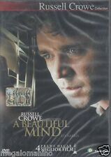Dvd **A BEAUTIFUL MIND** con Russel Crowe nuovo 2002