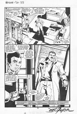 NAMOR # 20 Pg. 30 by JOHN  BYRNE! SIGNED!! MISTY KNIGHT & TYRONE KING APPEAR!!!