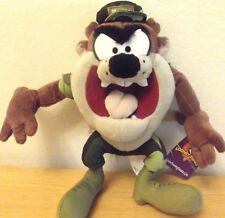 Warner Bros Tasmanian (Taz) plush doll Looney Tunes cartoon character marine