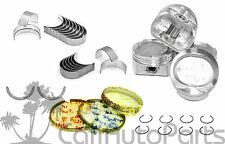 98-99 Toyota Corolla Chevy Prizm 1.8L 1ZZFE PISTONS & RINGS & MAIN ROD BEARINGS