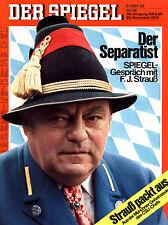 """""""Der Spiegel"""" Nr. 49 v 1976, FJ Strauß-der Separatist; Einmarsch Syrer in Beirut"""