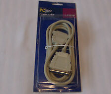 PC line parallel printer cable 25 pin male to 36 pin male 1.8 meters new sealed
