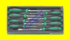 STAHLWILLE 4697 Satz Schraubendreher DRALL+ Kreuz & Schlitz 8tlg 96469710 - NEU
