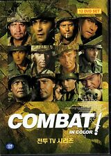 Combat - ABC TV Series  24 episodes 12 DVD Boxset - Vic Morrow Rick jason (NEW)