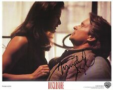 Hand Signed 8x10 photo Lobby Card MICHAEL DOUGLAS in DISCLOSURE + my COA