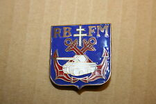 FREE FRENCH FRANCE LIBRE 2ND DB REGIMENT BLINDE FUSILIERS MARINS BRITISH MADE