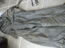 vintage kett wax cotton motorcycle suit sold by lewis leathers