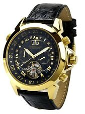 "Calvaneo 1583 LUXURYLINE ""Astonia DIAMOND GOLD BLACK"" Automatikuhr"