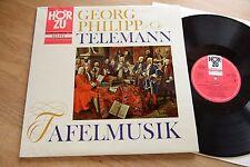TELEMANN Tafelmusik Maurice Andre BRÜGGEN  LP HörZu SHZT 526