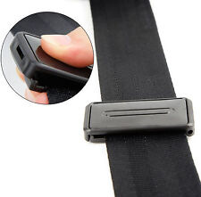 2 x Seatbelt Clip Seat Belt Buckle Adjuster Support More Safety and Comfort Aid