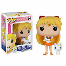 Funko Sailor Moon POP Sailor Venus with Artemis Vinyl Figure NEW Toys Anime