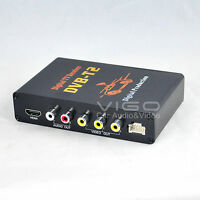 Car Digital TV Receiver Box Freeview with Antenna DVB-T DVB-T2 Tuner MPEG4 MPEG2