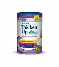 Resource ThickenUp Clear Food Thickener, Unflavored, 125 gm - 4.4 oz. Canister